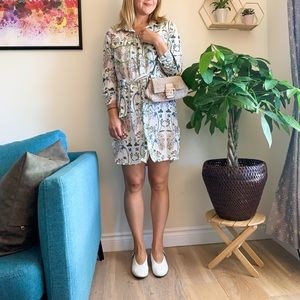 Summer Floral Tunic S/M